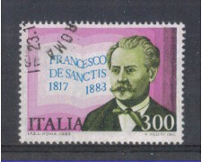 1983 - LOTTO/6800U - REPUBBLICA - FRANCESCO DE SANCTIS - USATO