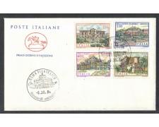 1984 - LOTTO/6818ZC - REPUBBLICA - VILLE 5° SERIE - FDC