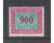 1984 - LOTTO/6822 - REPUBBLICA - 900 LIRE SEGNATASSE