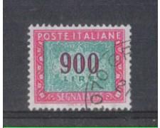 1984 - LOTTO/6822U - REPUBBLICA - 900 LIRE SEGNATASSE - USATO