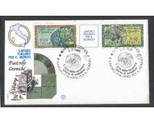 1985 - LOTTO/6826Z - REPUBBLICA - LAVORO ITALIANO 6° SERIE - FDC