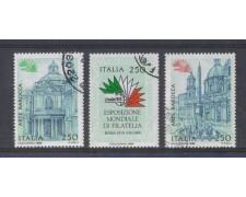1985 - LOTTO/6828UD - REPUBBLICA - ITALIA 85 - 4° SERIE USATI