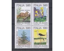 1985 - LOTTO/6832 - REPUBBLICA - SALVAGUARDIA NATURA 4v. - NUOVI