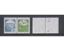 1985 - LOTTO/6835N - REPUBBLICA - CASTELLI PER DISTRIBUTORI NUME