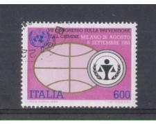 1985 - LOTTO/6838U - REPUBBLICA - PREVENZIONE CRIMINE - USATO