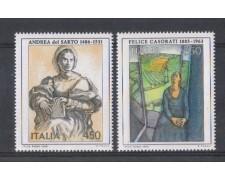 1986 - LOTTO/6864 - REPUBBLICA - ARTE ITALIANA 2v. - NUOVI