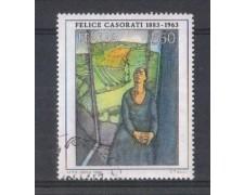 1986 - LOTTO/6864UB - REPUBBLICA - 550 L. F.CASORATI - USATO