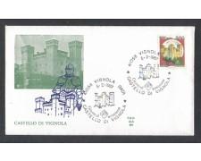 1987 - LOTTO/6868Z - REPUBBLICA - CASTELLO DI VIGNOLA - FDC