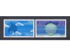 1987 - LOTTO/6869 - REPUBBLICA - LAVORO ITALIANO