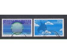 1987 - LOTTO/6869U - REPUBBLICA - LAVORO ITALIANO - USATI