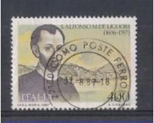 1987 - LOTTO/6876U - REPUBBLICA - DE LIGUORI - USATO