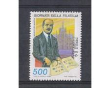 1987 - LOTTO/6884 - REPUBBLICA - GIORNATA DELLA FILATELIA