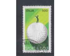 1988 - LOTTO/6896U - REPUBBLICA - SPORT IL GOLF - USATO