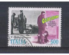 1988 - LOTTO/6906AU - REPUBBLICA - FILM OSSESSIONE - USATO