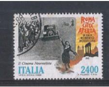 1988 - LOTTO/6906CU - REPUBBLICA - ROMA CITTA' APERTA - USATO