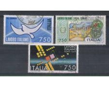 1988 - LOTTO/6907U - REPUBBLICA - LAVORO ITALIANO - USATI