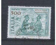 1988 - LOTTO/6910U - REPUBBLICA - NATIVITA' - USATO