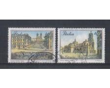1989 - LOTTO/6917U - REPUBBLICA - PIAZZE D'ITALIA 3° - USATI