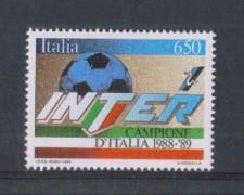 1989 - LOTTO/6924 - REPUBBLICA - INTER CAMPIONE