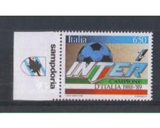 1989 - LOTTO/6924A - REPUBBLICA - INTER CAMPIONE + APPENDICE