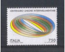 1989 - LOTTO/6925 - REPUBBLICA - UNIONE INTERPARLAMENTARE