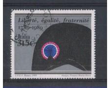1989 - LOTTO/6926U - REPUBBLICA - RIV. FRANCESE - USATO
