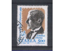 1989 - LOTTO/6932U - REPUBBLICA - GIORNATA FILATELIA - USATO