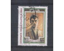1990 - LOTTO/6952U - REPUBBLICA - GIORNATA FILATELIA - USATO