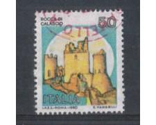 1991 - LOTTO/6976U - REPUBBLICA - CASTELLO CALASCIO - USATO