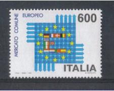 1992 - LOTTO/7001 - REPUBBLICA - MERCATO COMUNE EUROPEO