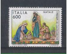 1992 - LOTTO/7003 - REPUBBLICA - NATALE - NUOVO