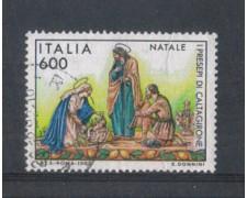 1992 - LOTTO/7003U - REPUBBLICA - NATALE - USATO