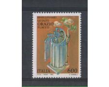 1993 - LOTTO/7012 - REPUBBLICA - ORAZIO FLACCO