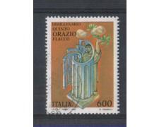 1993 - LOTTO/7012U - REPUBBLICA - ORAZIO FLACCO - USATO