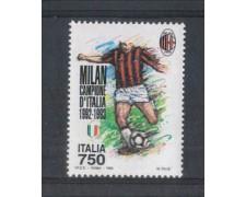 1993 - LOTTO/7017 - REPUBBLICA - SCUDETTO MILAN