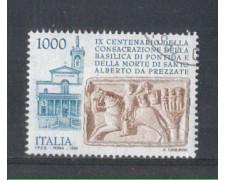 1995 - LOTTO/REP2221U - REPUBBLICA - BASILICA DI PONTIDA - USATO