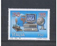 1995 - LOTTO/REP2223N - REPUBBLICA - AGENZIA ANSA - NUOVO
