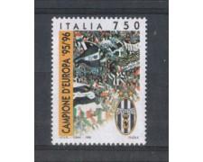 1996 - LOTTO/REP2276N - REPUBBLICA - JUVENTUS CAMPIONE - NUOVO