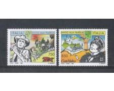 1996 - LOTTO/7122 - REPUBBLICA -  I FUMETTI 2v. - NUOVI