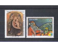 1996 - LOTTO/7126 - REPUBBLICA - NATALE 2v. - NUOVI