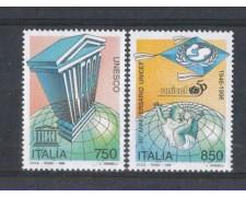1996 - LOTTO/7127 - REPUBBLICA - UNESCO UNICEF 2v. - NUOVI