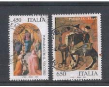 1997 - LOTTO/7160U - REPUBBLICA - PATRIMINIO ARTISTICO - USATI