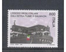 1997 - LOTTO/7175 - REPUBBLICA - ESODO ITALIANI