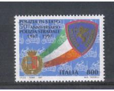 1997 - LOTTO/7176 - REPUBBLICA - POLIZIA STRADALE