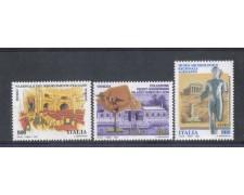 1998 - LOTTO/7197 - REPUBBLICA - MUSEI NAZIONALI 3v. NUOVI