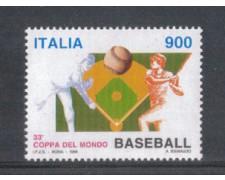 1998 - LOTTO/7201 - REPUBBLICA - BASEBALL