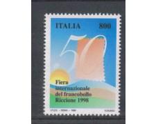 1998 - lOTTO/7203 - REPUBBLICA - FIERA DEL FRANCOBOLLO