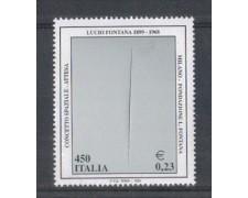 1999 - LOTTO/7221 - REPUBBLICA - LUCIO FONTANA