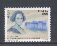 1999 - LOTTO/7238 - REPUBBLICA - DE FONSECA
