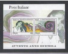 2000 - LOTTO/7301 - REPUBBLICA - MEDITAZIONE E ESPRESSIONE